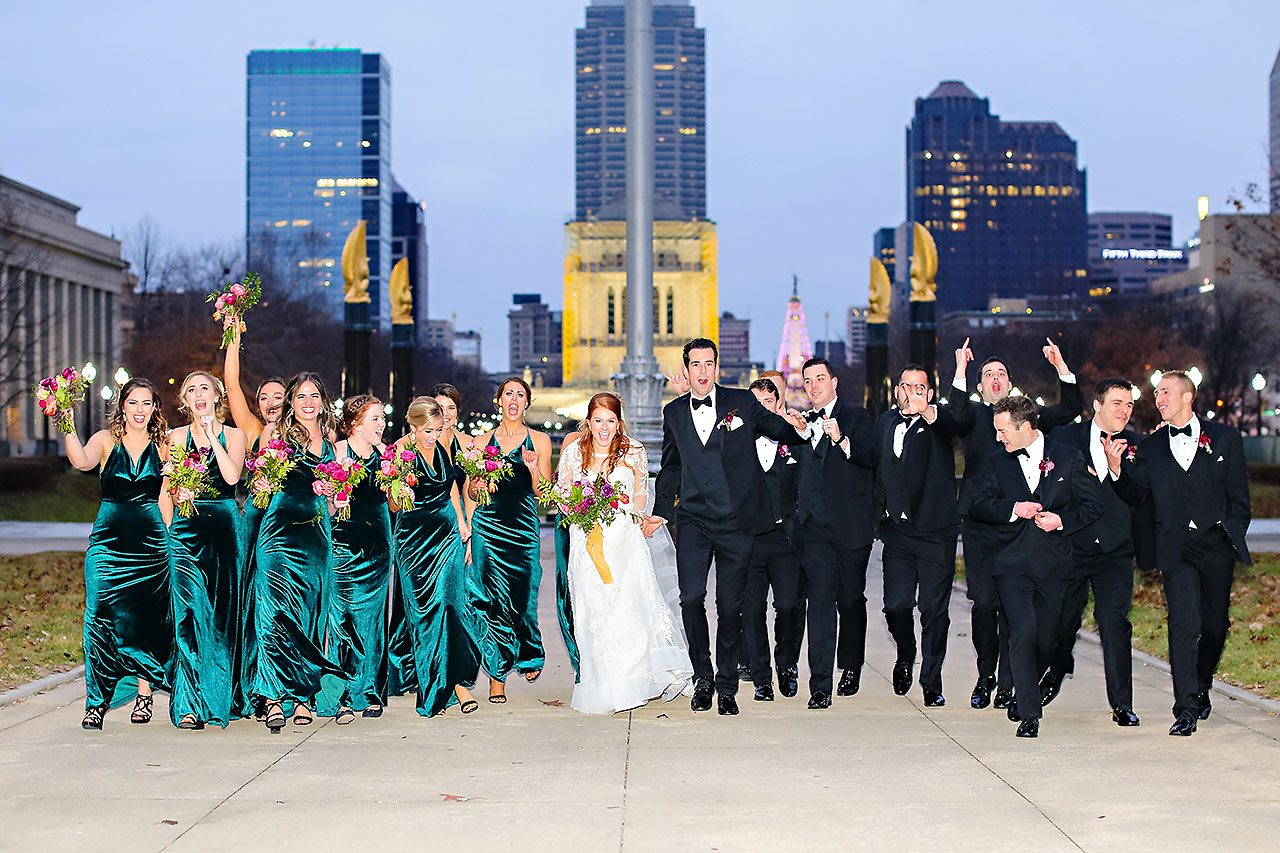 Marianne Steven Indianapolis Central Library Wedding 200