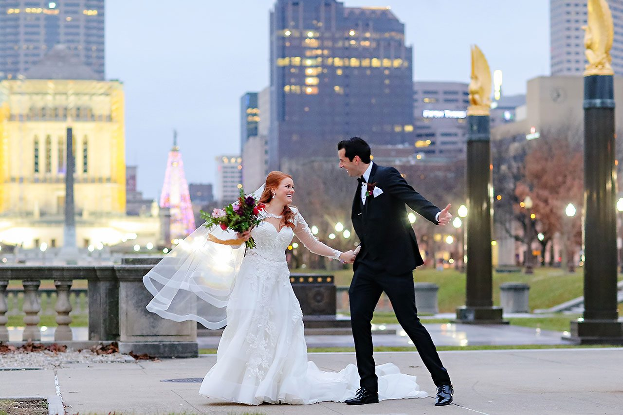 Marianne Steven Indianapolis Central Library Wedding 204