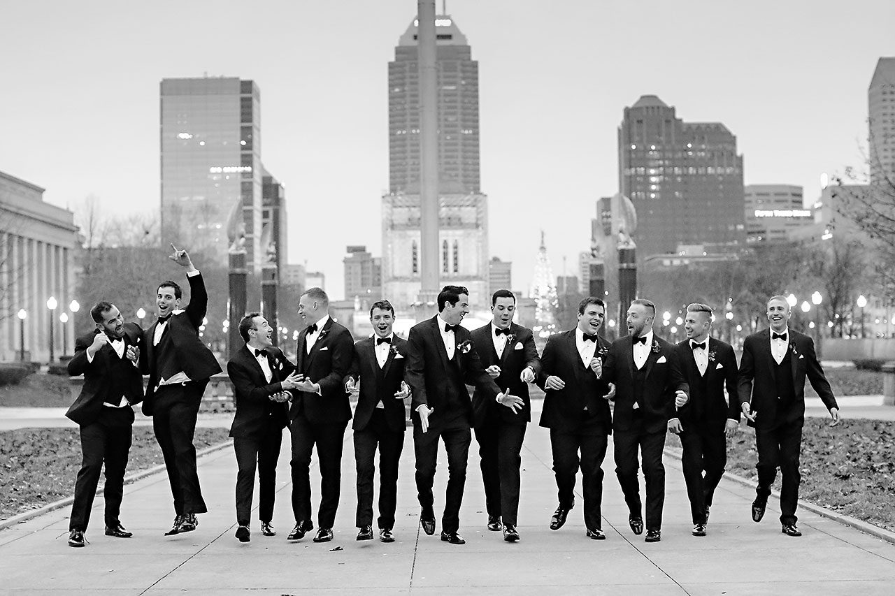 Marianne Steven Indianapolis Central Library Wedding 207