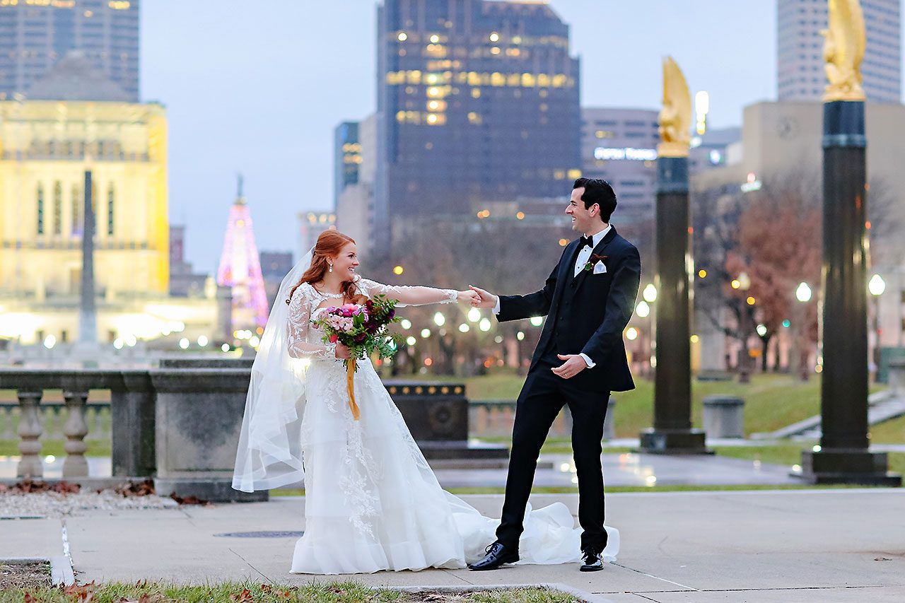 Marianne Steven Indianapolis Central Library Wedding 208