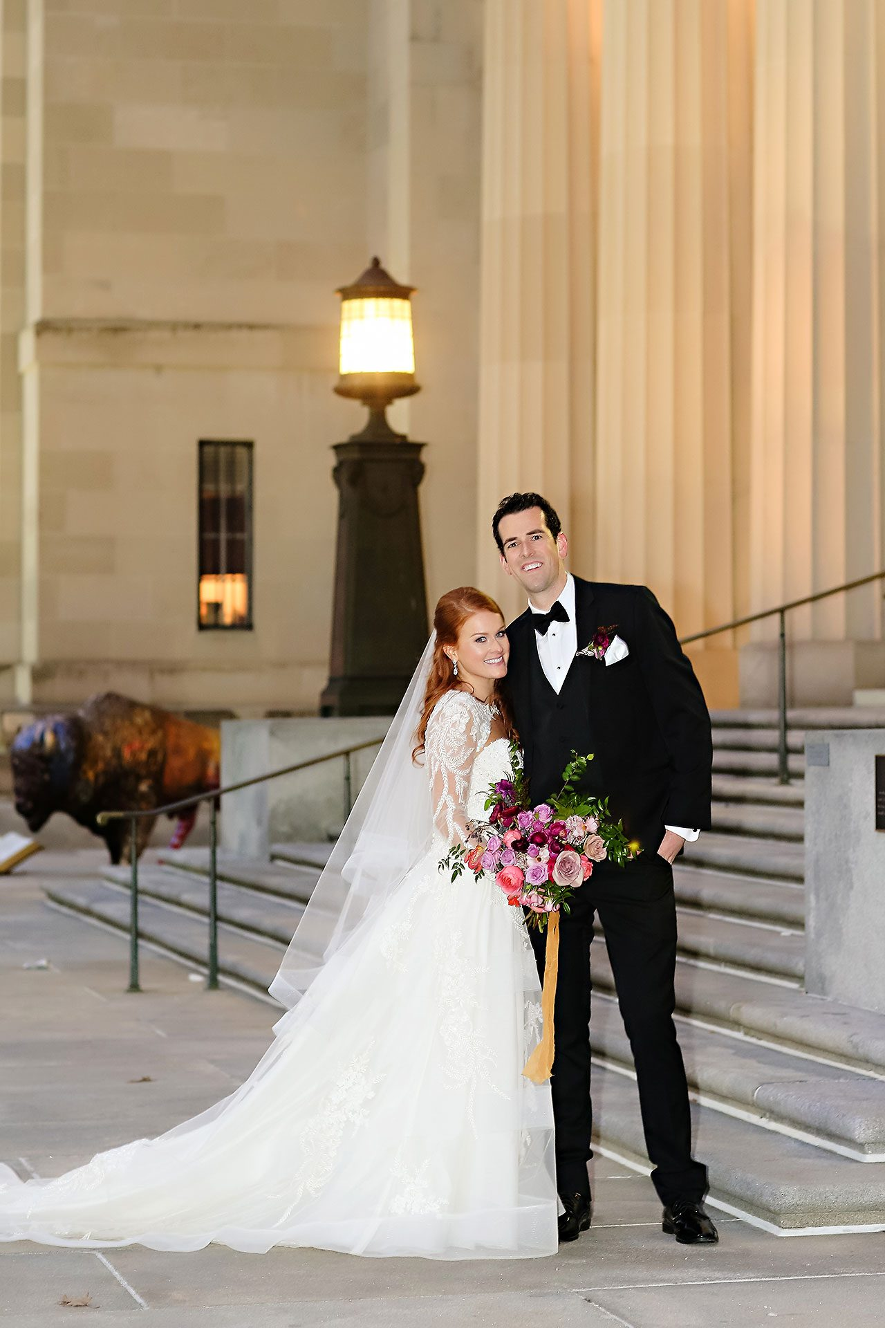Marianne Steven Indianapolis Central Library Wedding 211