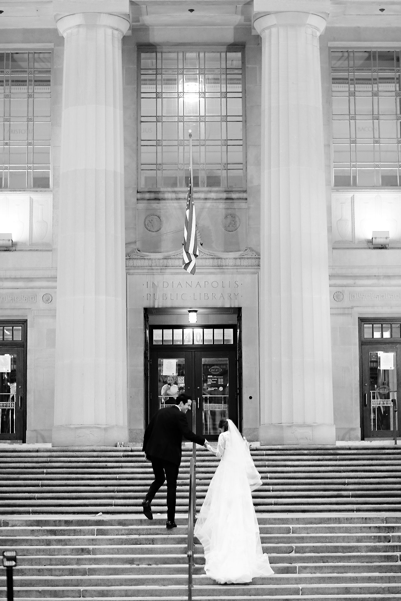 Marianne Steven Indianapolis Central Library Wedding 212