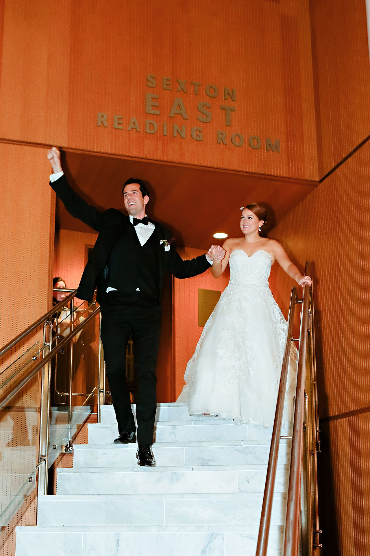 Marianne Steven Indianapolis Central Library Wedding 266