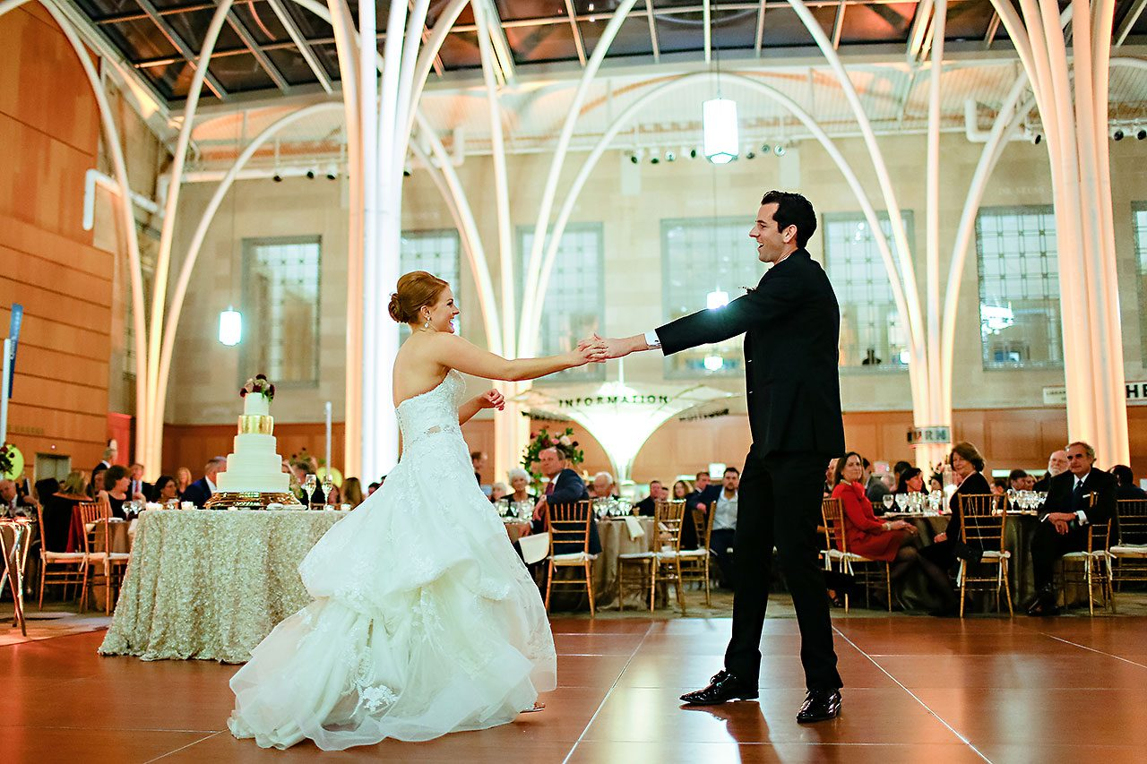 Marianne Steven Indianapolis Central Library Wedding 271
