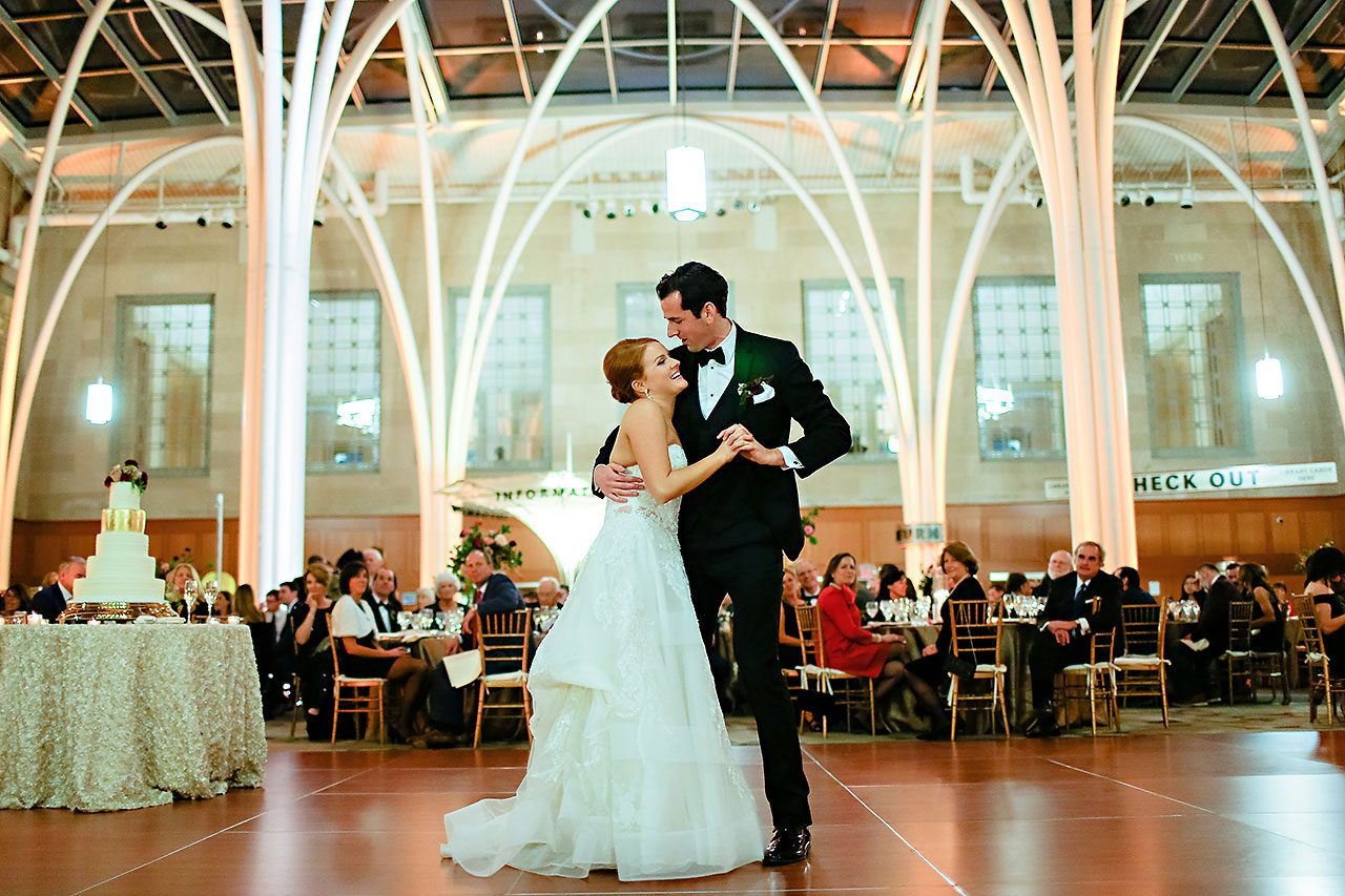 Marianne Steven Indianapolis Central Library Wedding 274