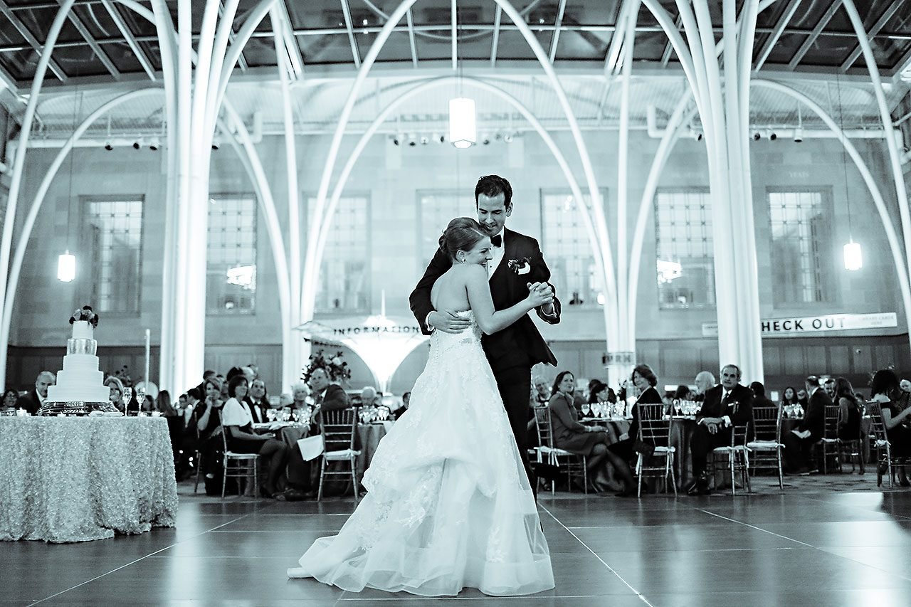 Marianne Steven Indianapolis Central Library Wedding 275