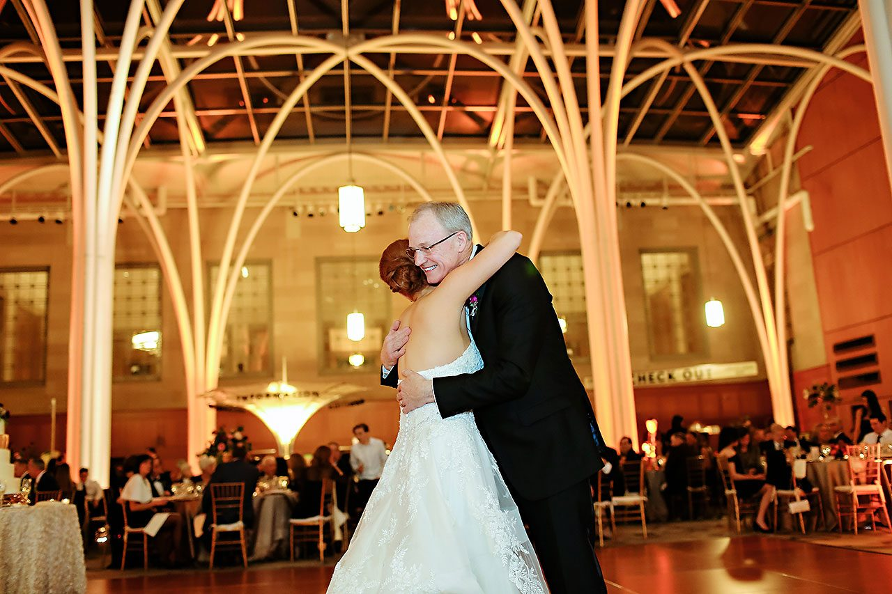 Marianne Steven Indianapolis Central Library Wedding 297