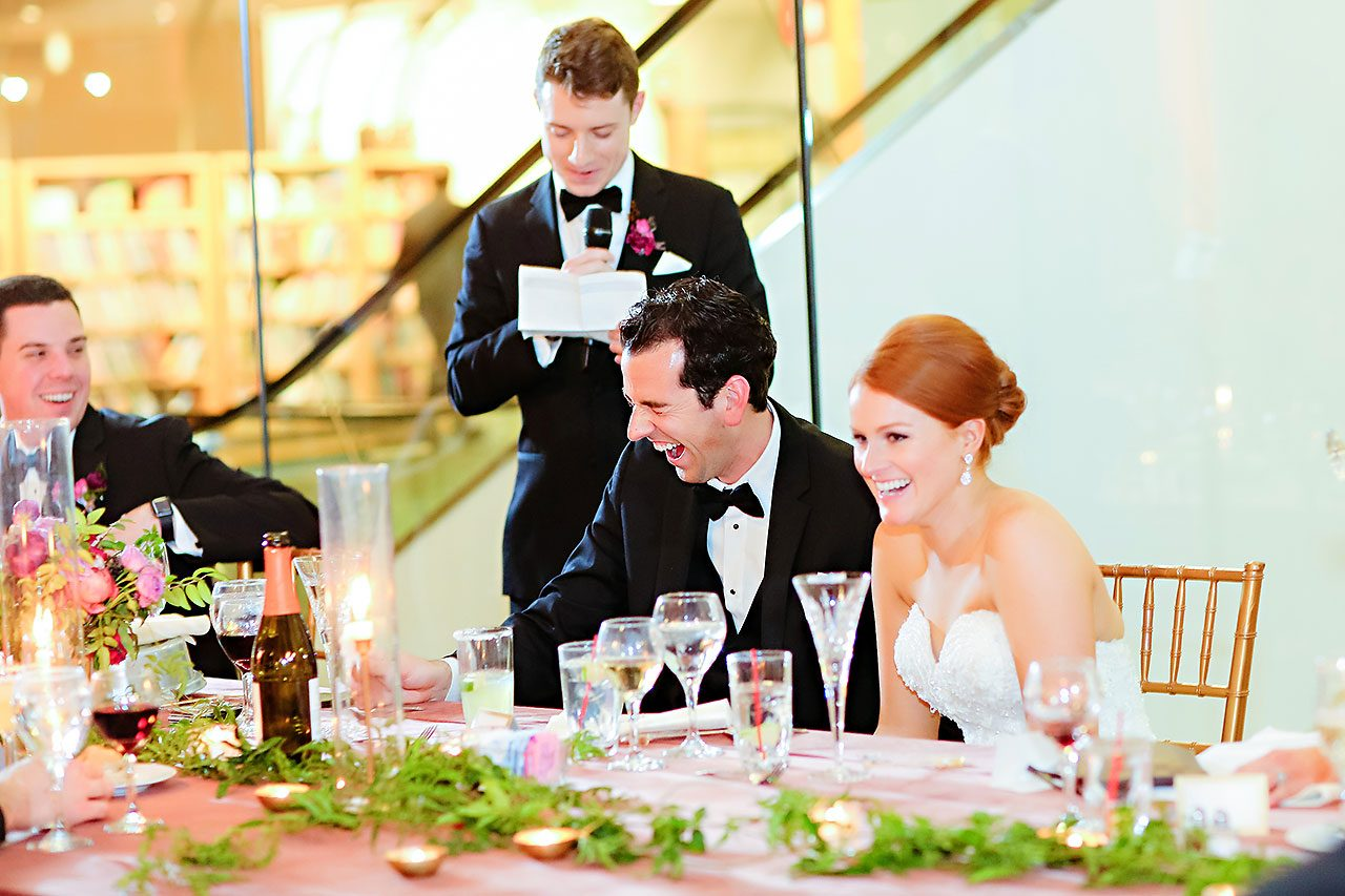 Marianne Steven Indianapolis Central Library Wedding 305