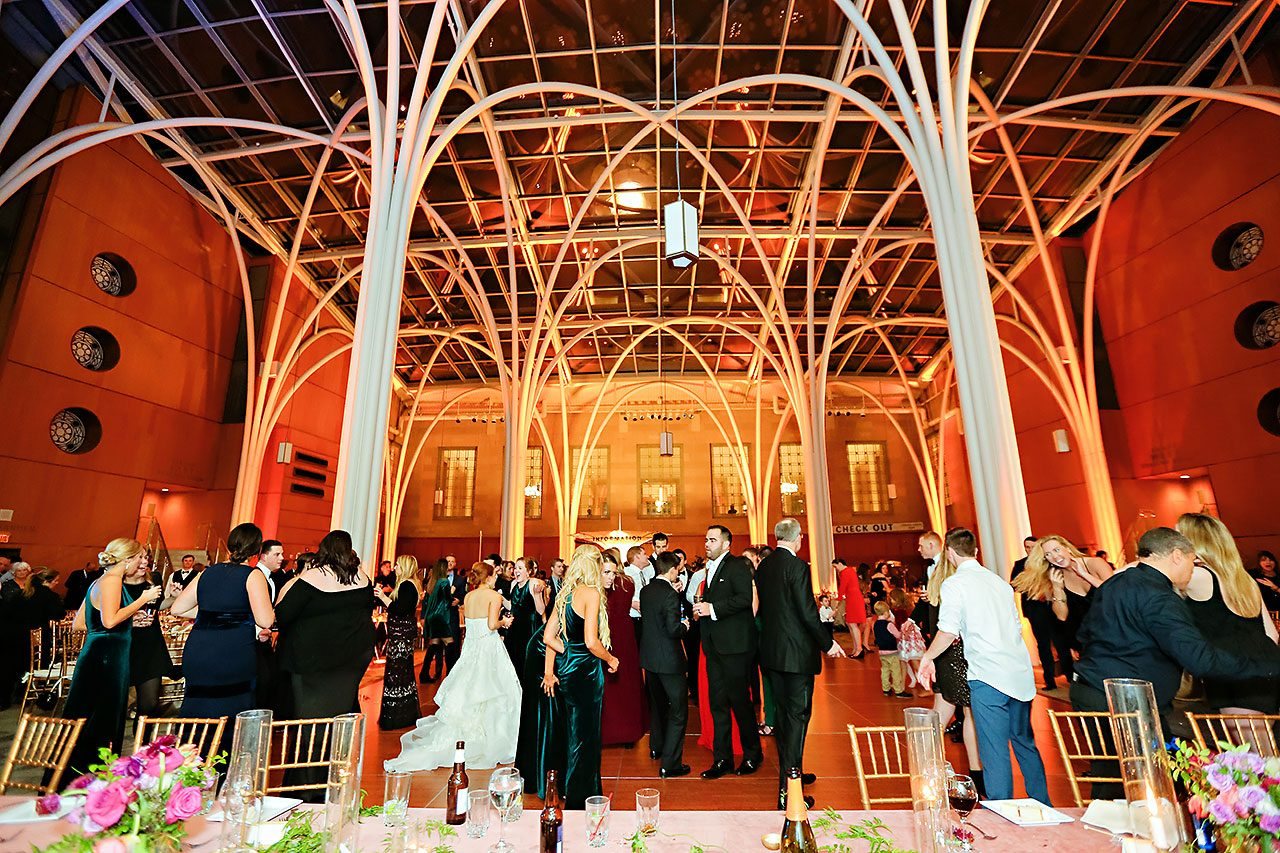 Marianne Steven Indianapolis Central Library Wedding 329