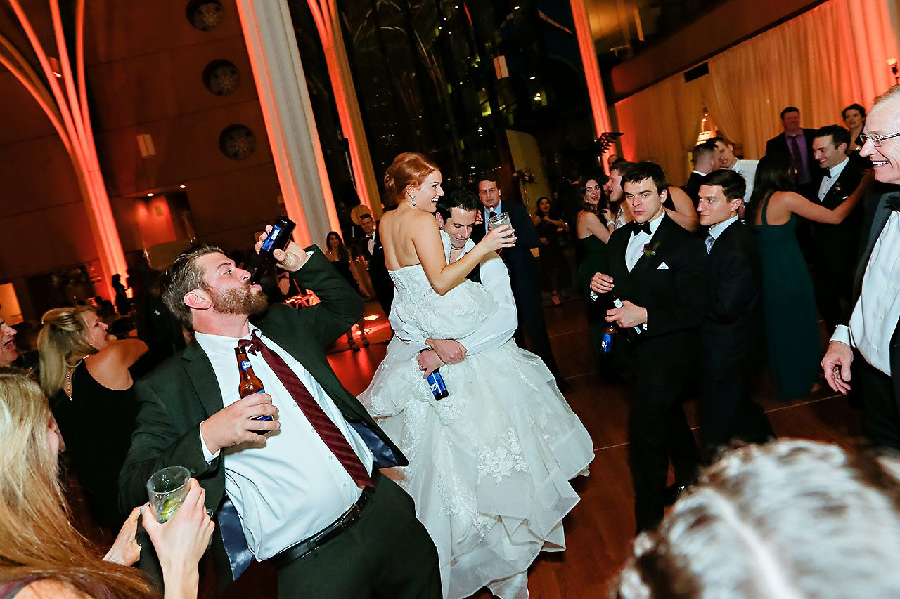 Marianne Steven Indianapolis Central Library Wedding 367