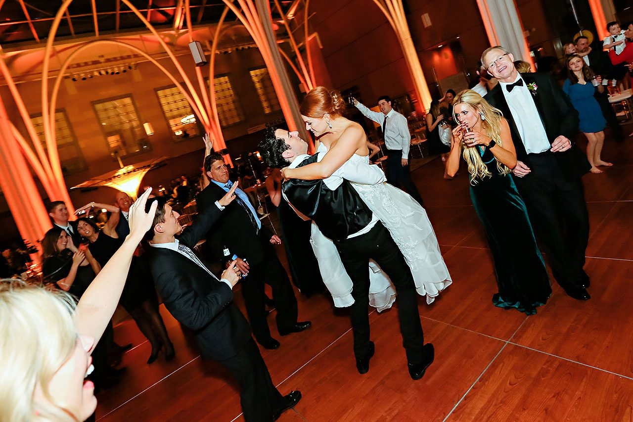 Marianne Steven Indianapolis Central Library Wedding 372