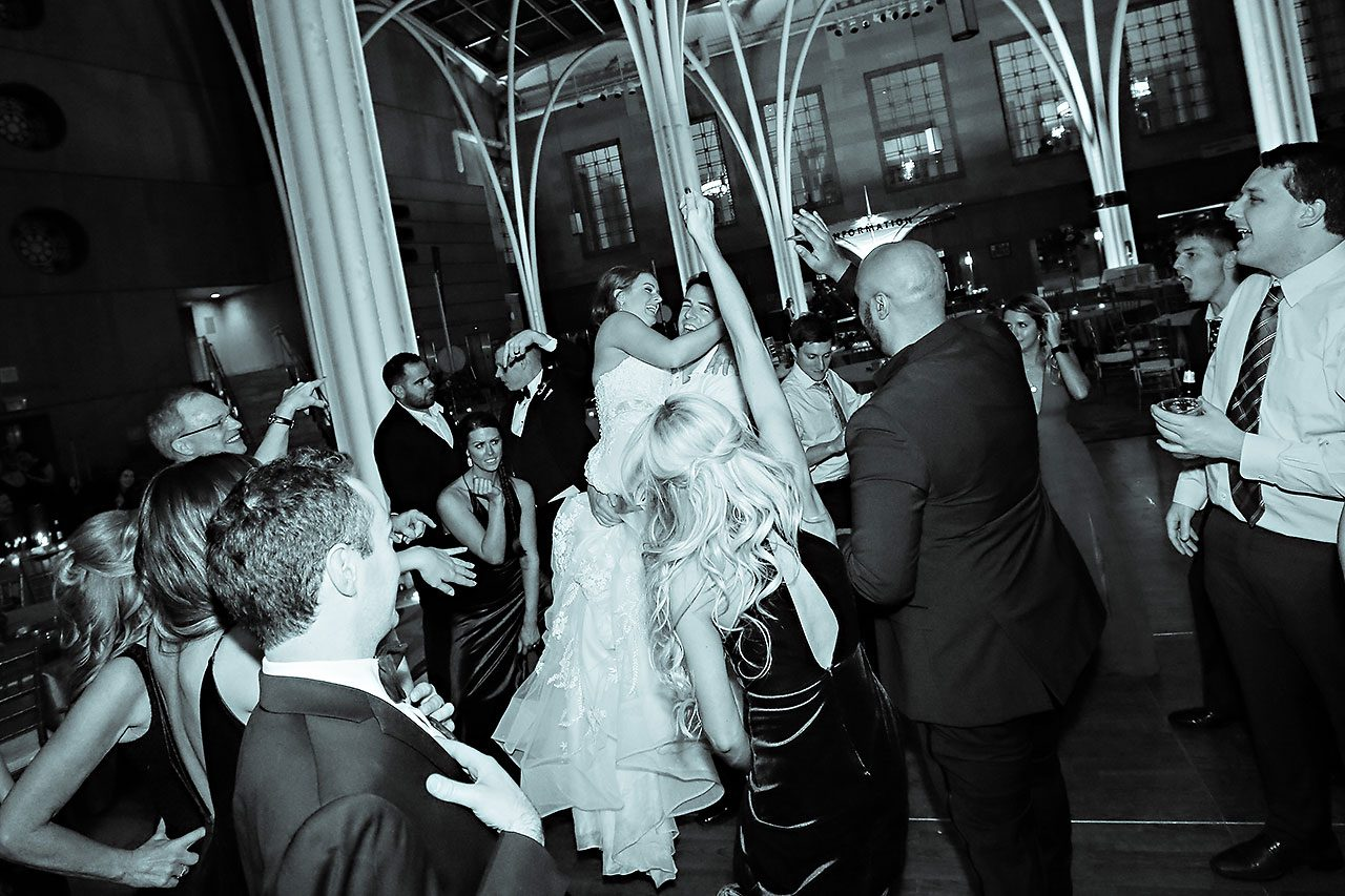 Marianne Steven Indianapolis Central Library Wedding 383