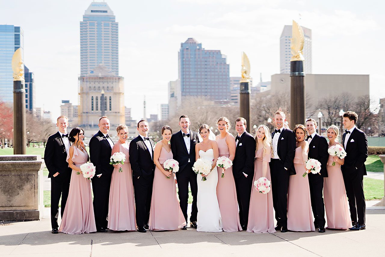 Erin Grant Indianapolis Central Library Scottish Rite Wedding 160