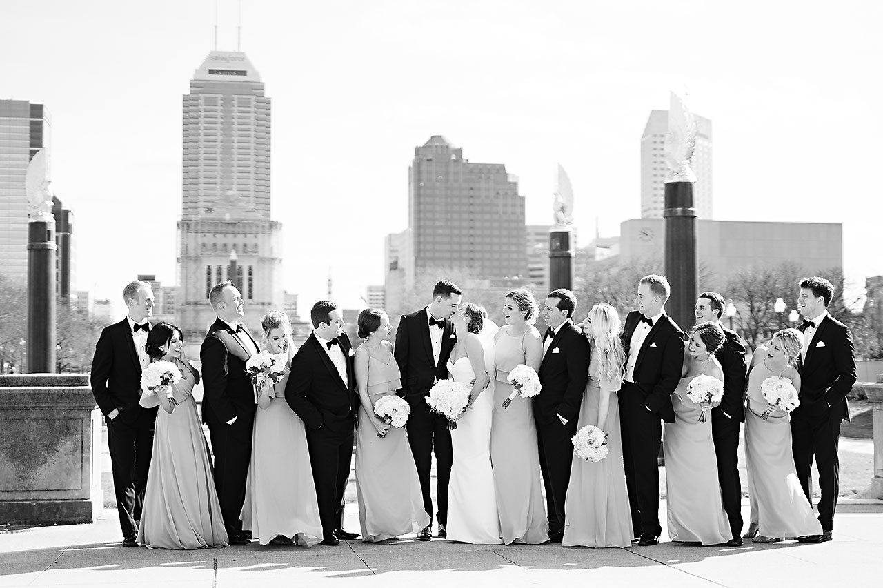 Erin Grant Indianapolis Central Library Scottish Rite Wedding 162