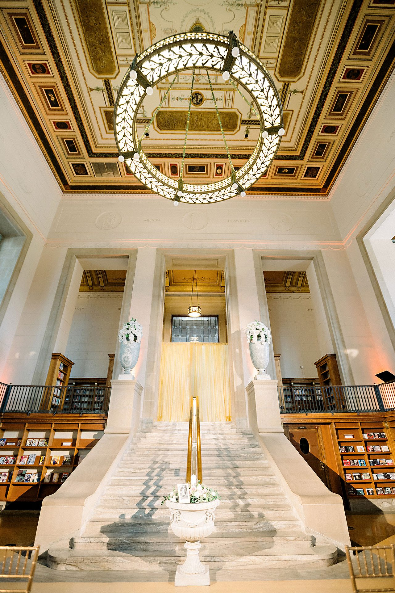 Erin Grant Indianapolis Central Library Scottish Rite Wedding 205