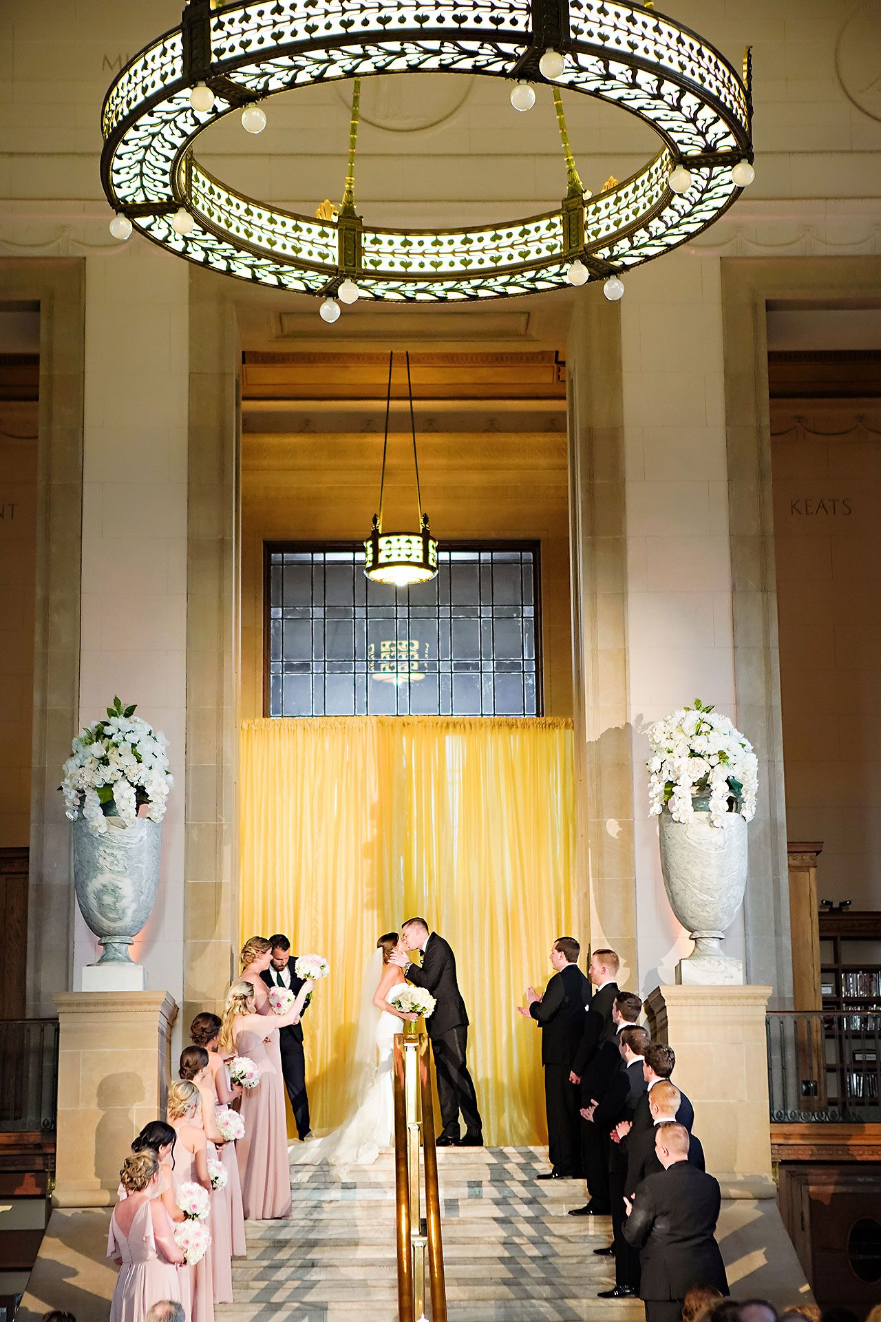 Erin Grant Indianapolis Central Library Scottish Rite Wedding 224