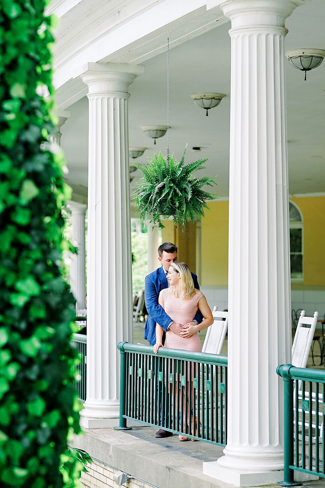 Kendra Pete West Baden Springs Engagement Session 034