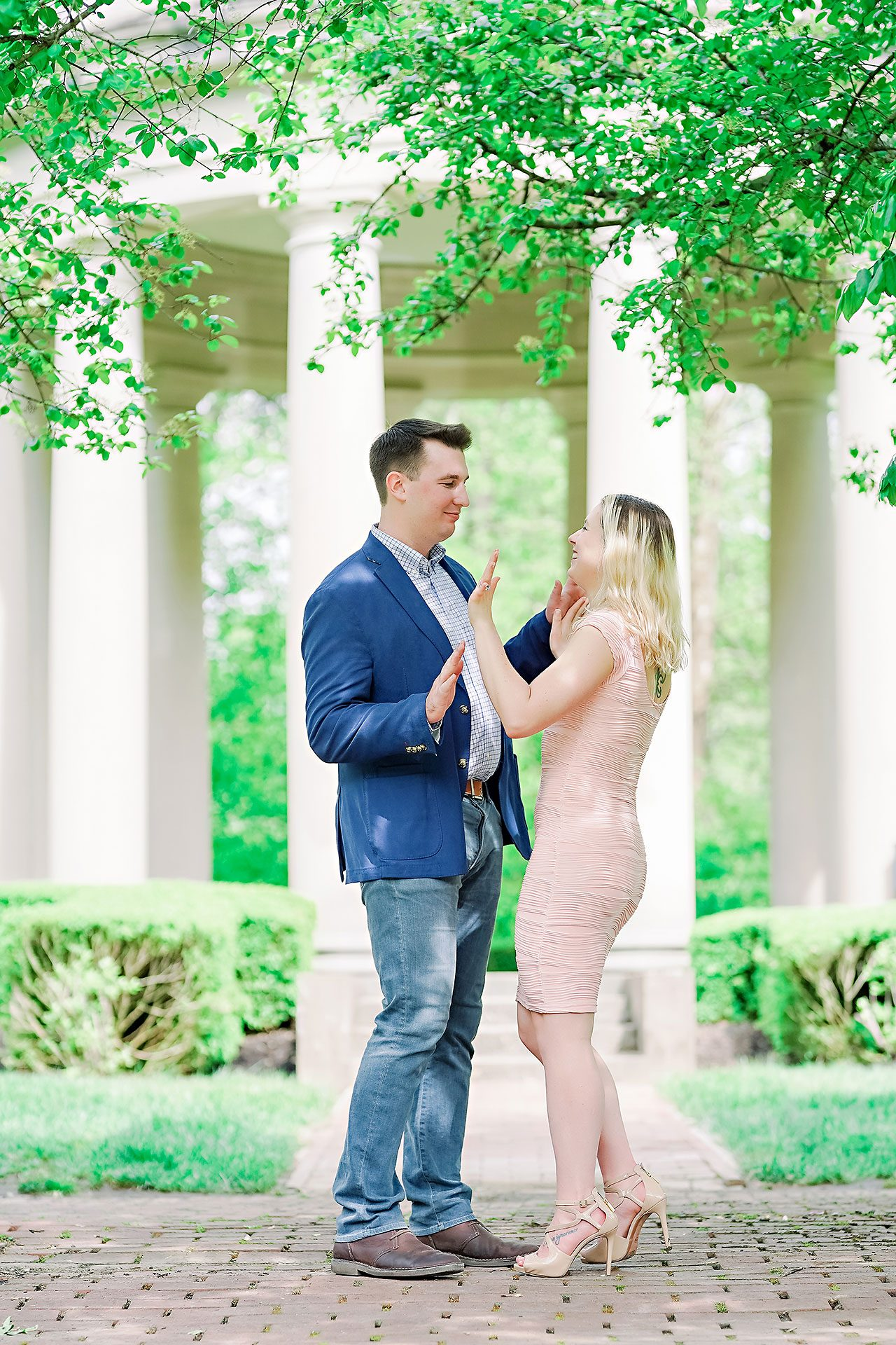 Kendra Pete West Baden Springs Engagement Session 039