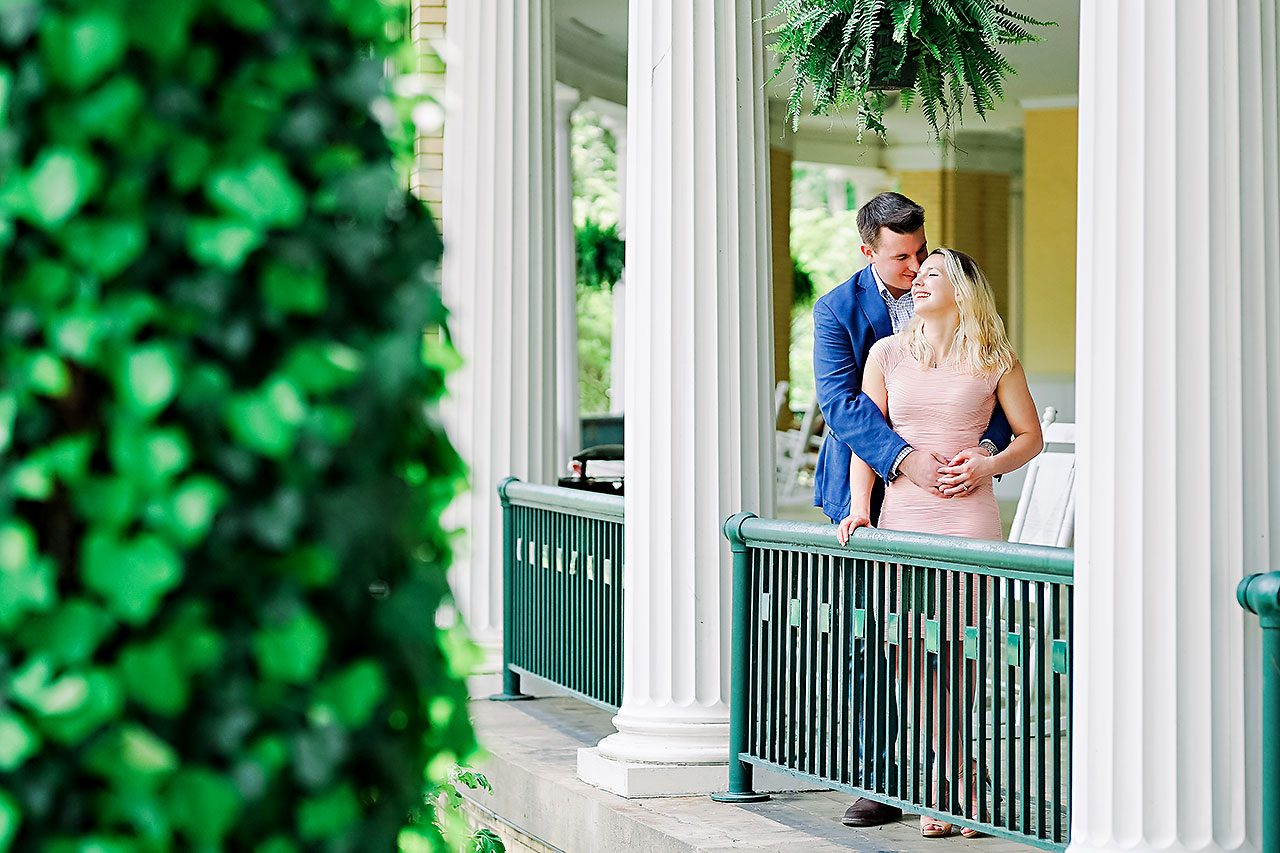 Kendra Pete West Baden Springs Engagement Session