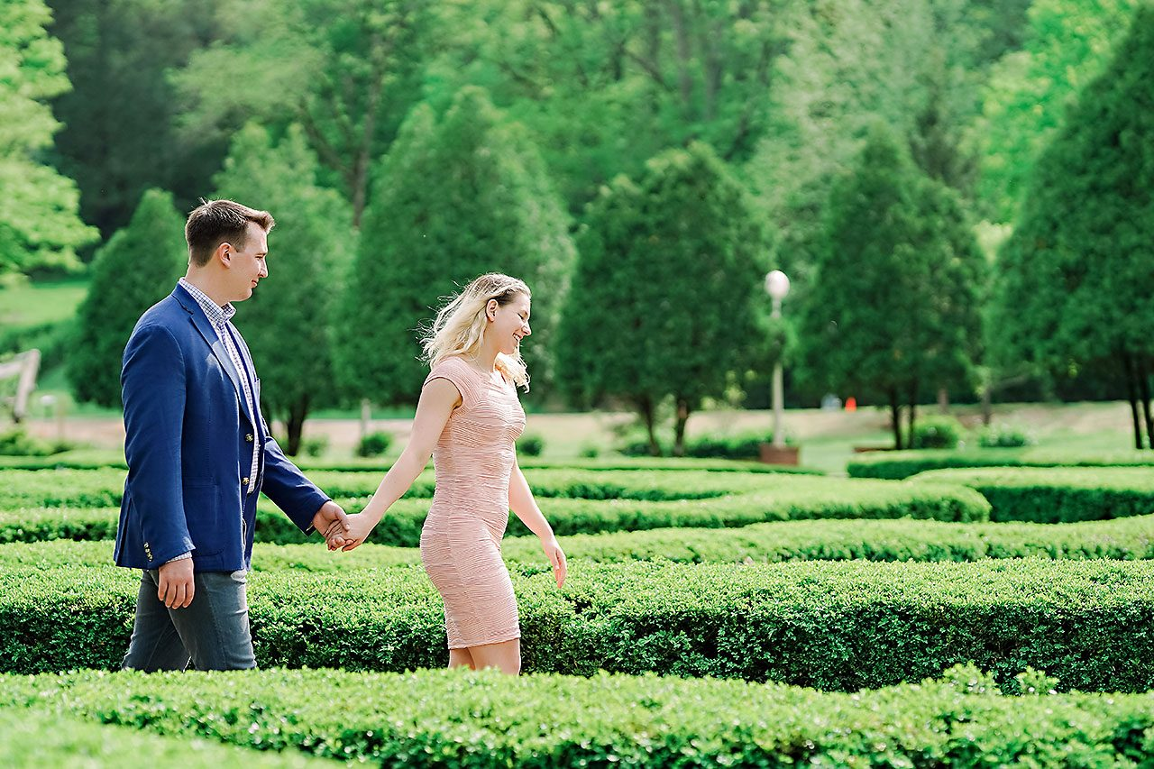 Kendra Pete West Baden Springs Engagement Session 076