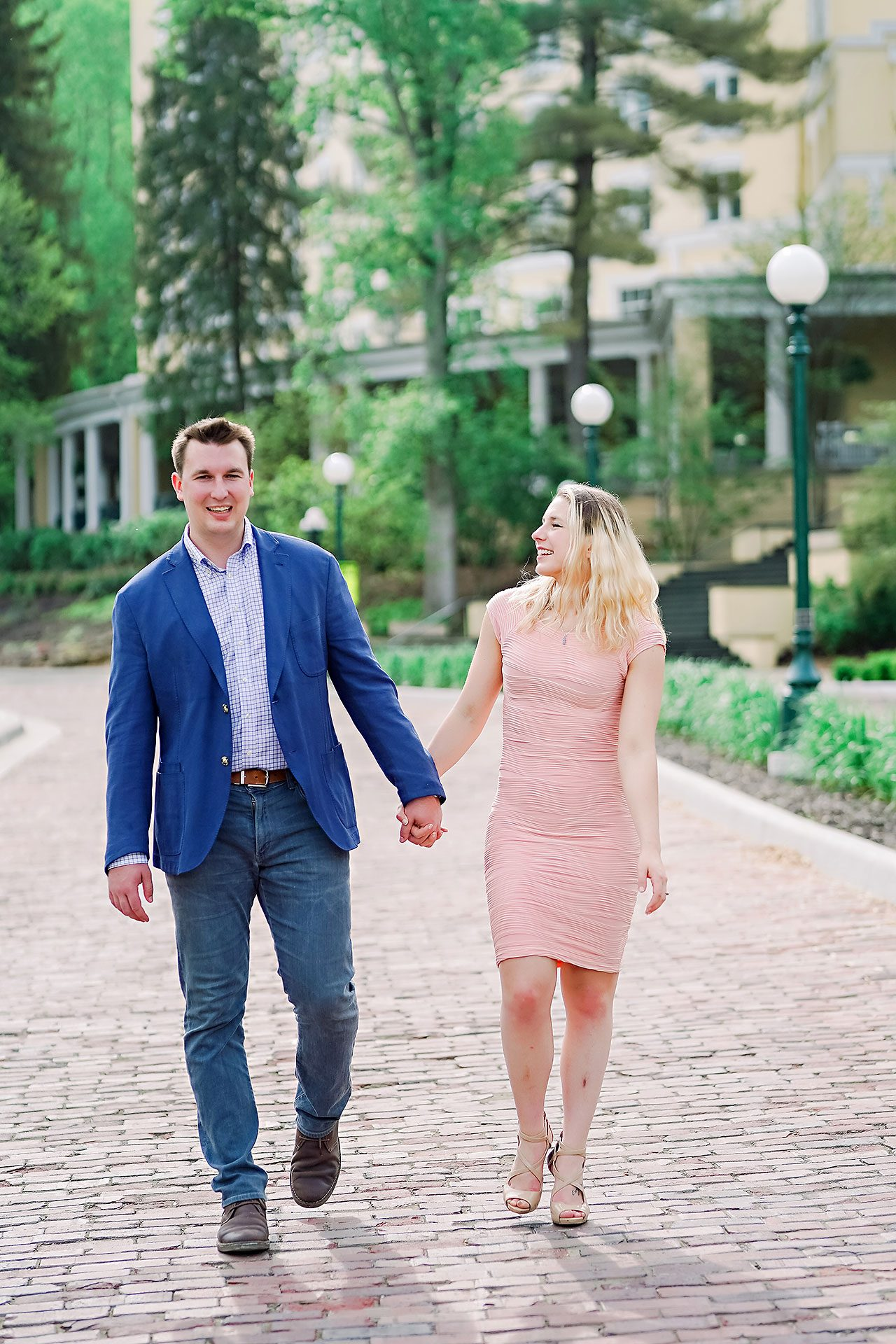 Kendra Pete West Baden Springs Engagement Session 089