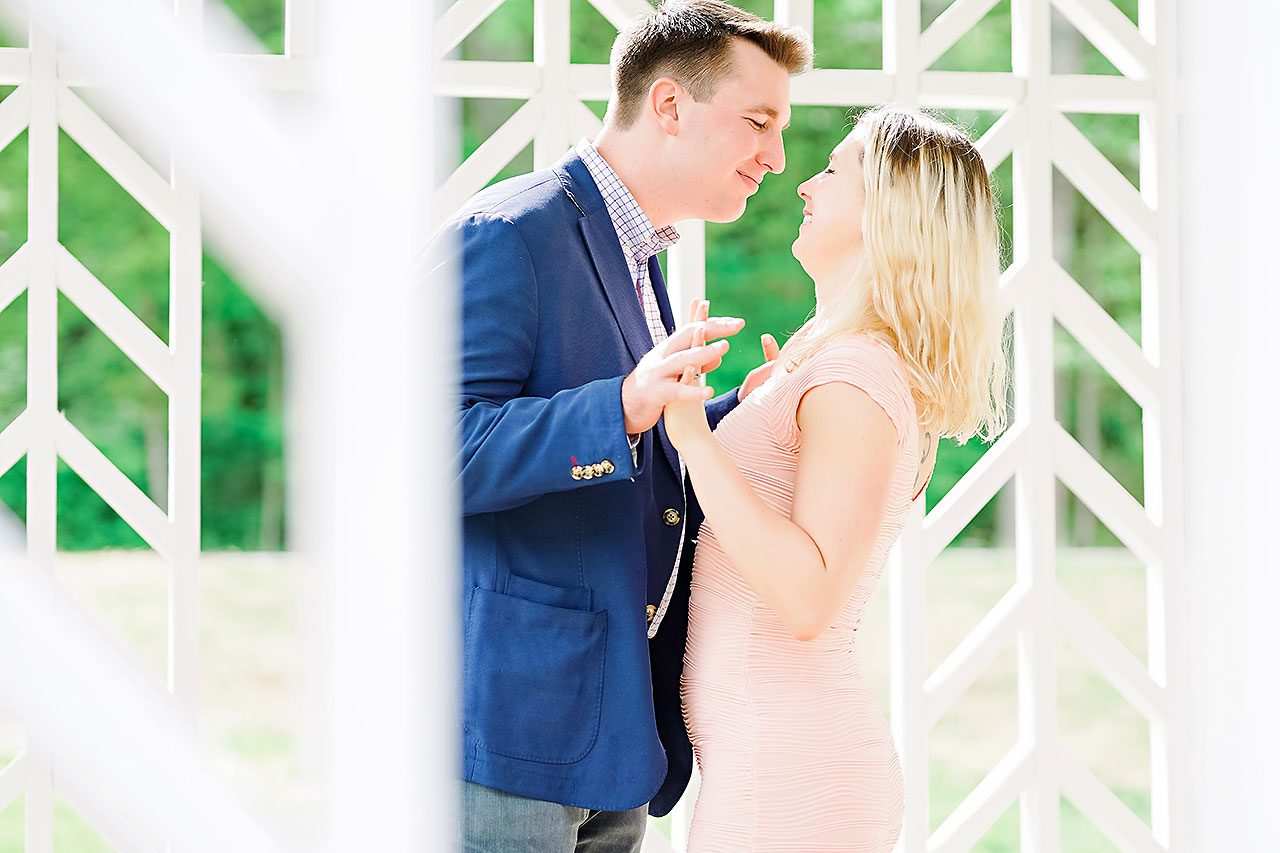 Kendra Pete West Baden Springs Engagement Session 095