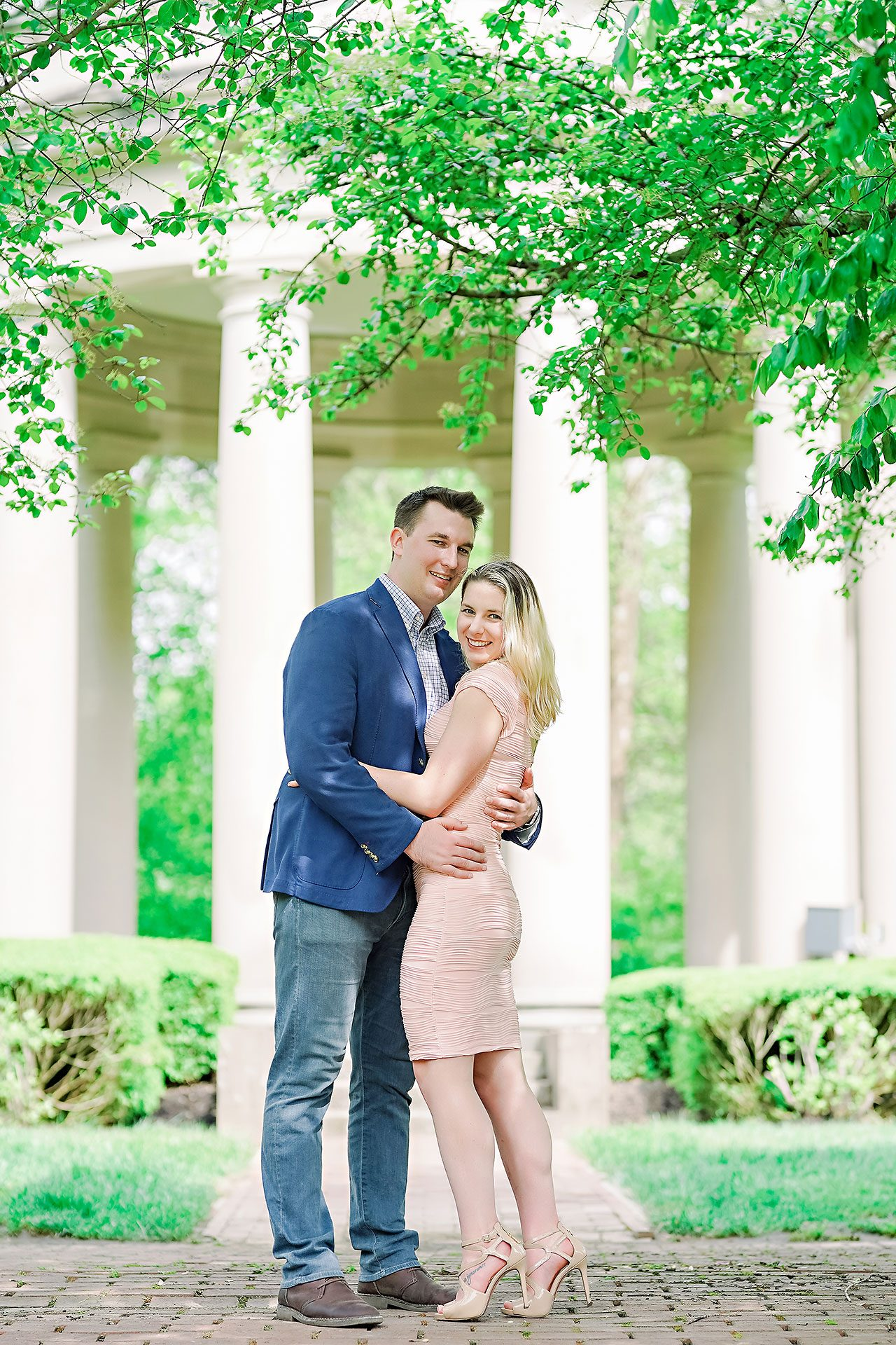 Kendra Pete West Baden Springs Engagement Session 103