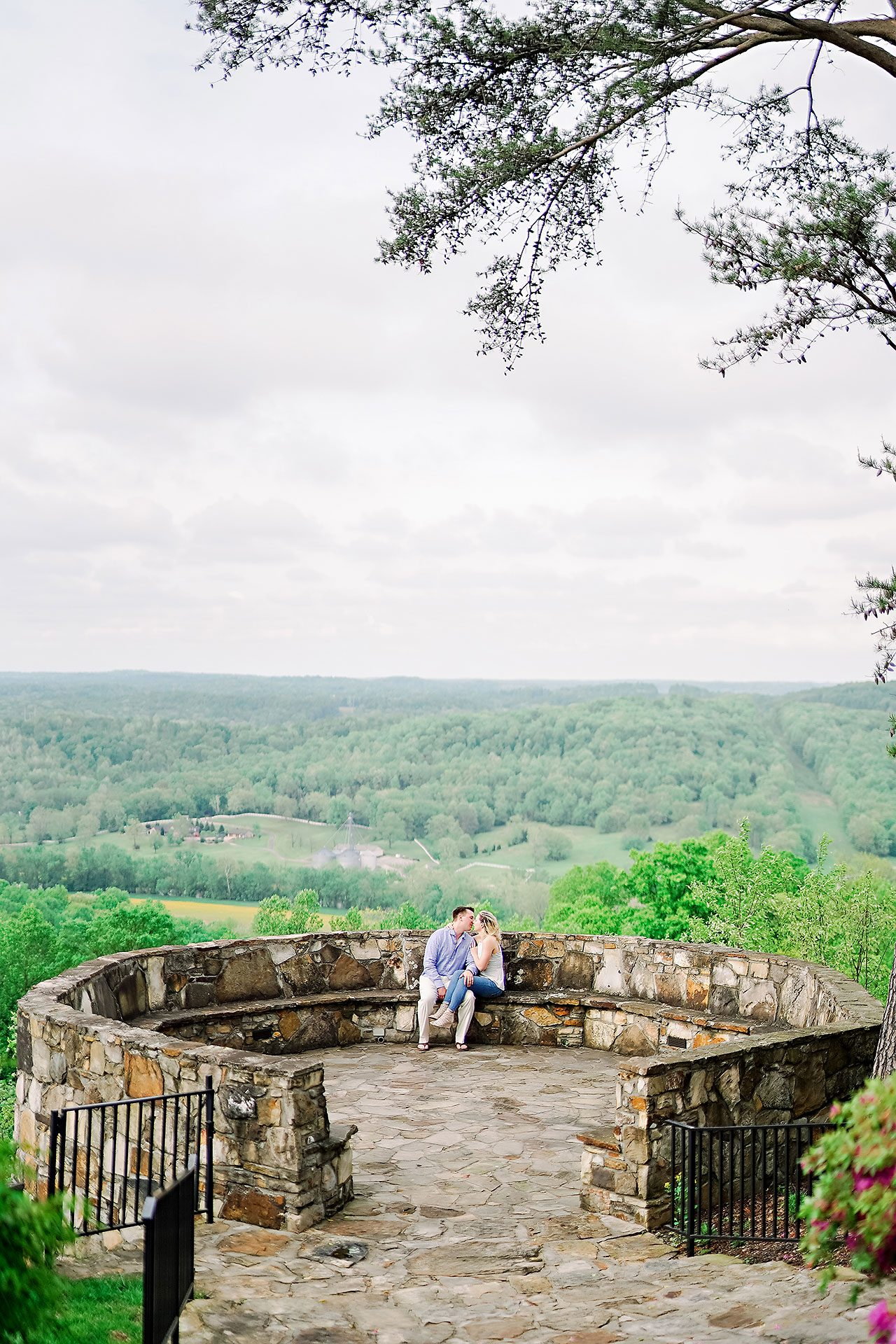 Kendra Pete West Baden Springs Engagement Session 137