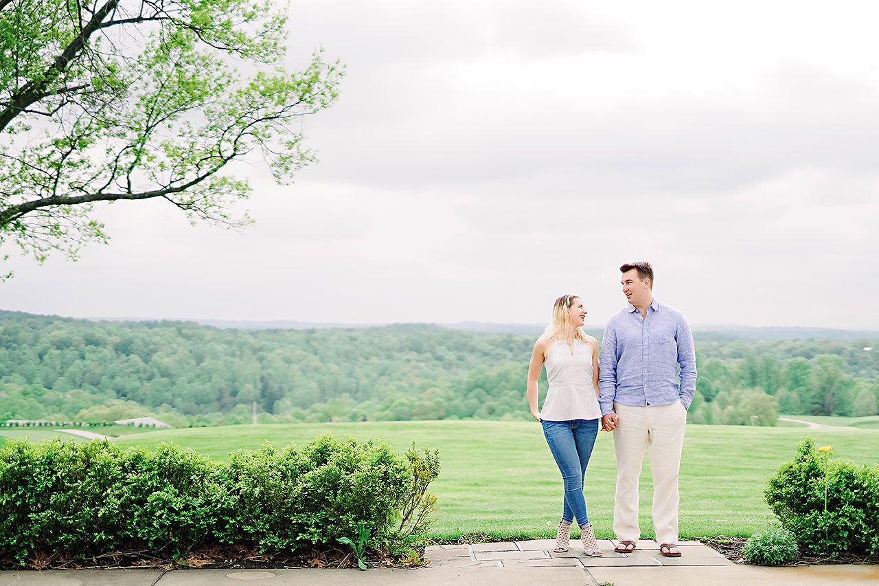 Kendra Pete West Baden Springs Engagement Session 154
