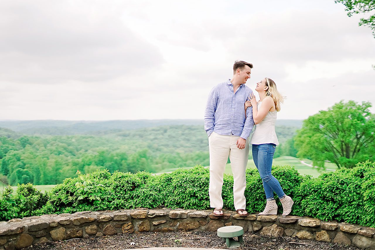Kendra Pete West Baden Springs Engagement Session 156