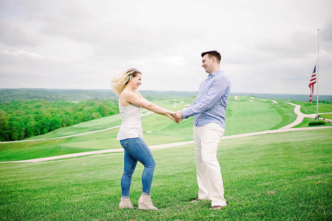 Kendra Pete West Baden Springs Engagement Session 164