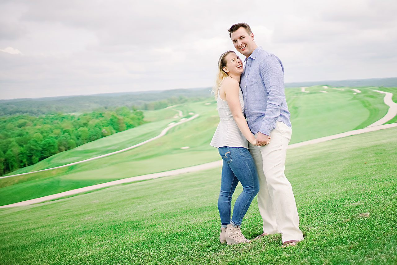 Kendra Pete West Baden Springs Engagement Session 170