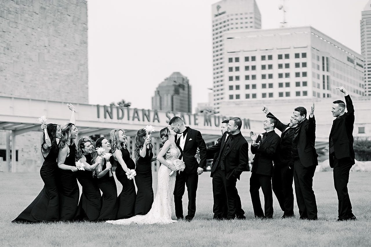 Megan Kyle Crane Bay Indianapolis Wedding 139