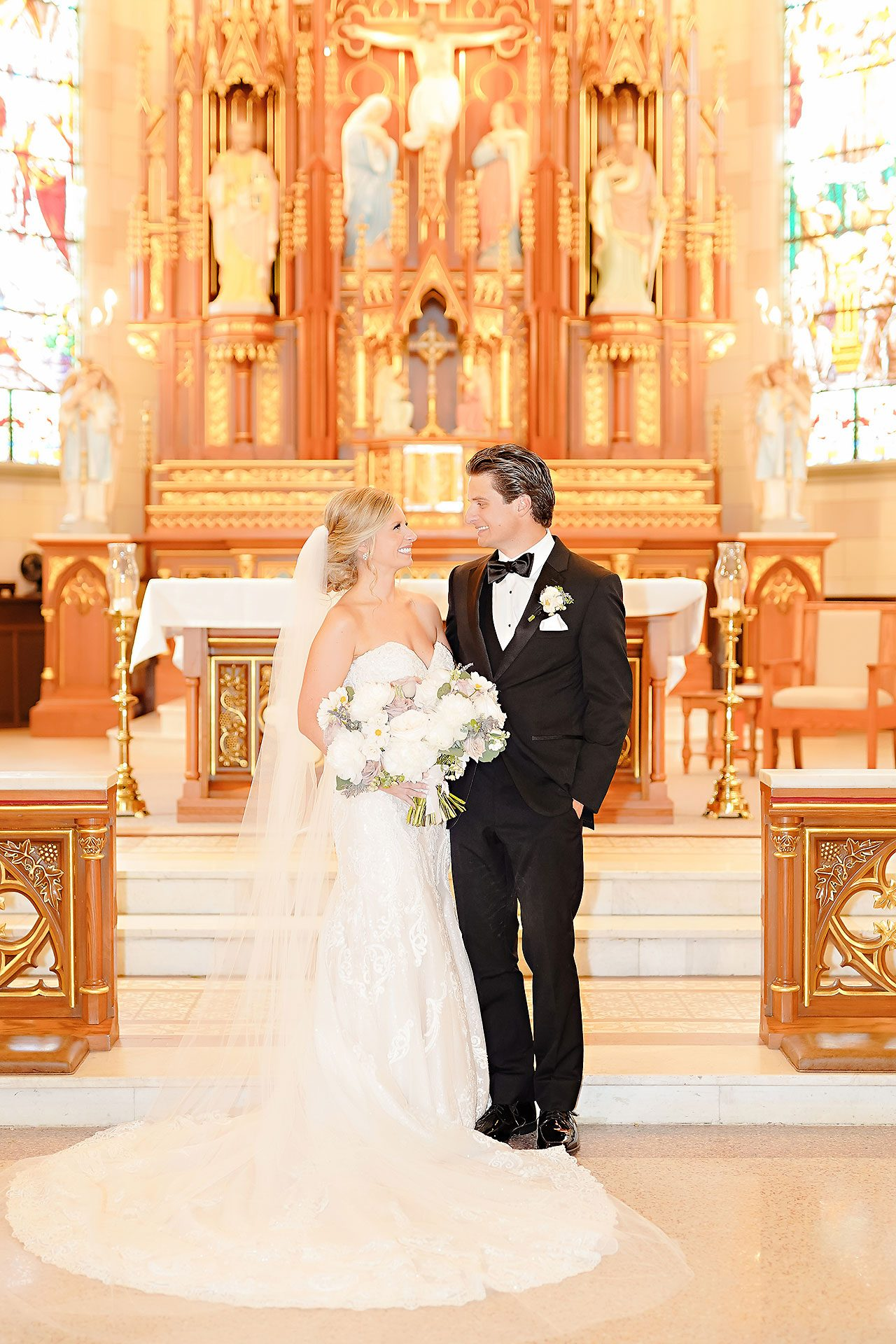 Laura Brandon Sacred Heart Conrad Indianapolis Wedding 074