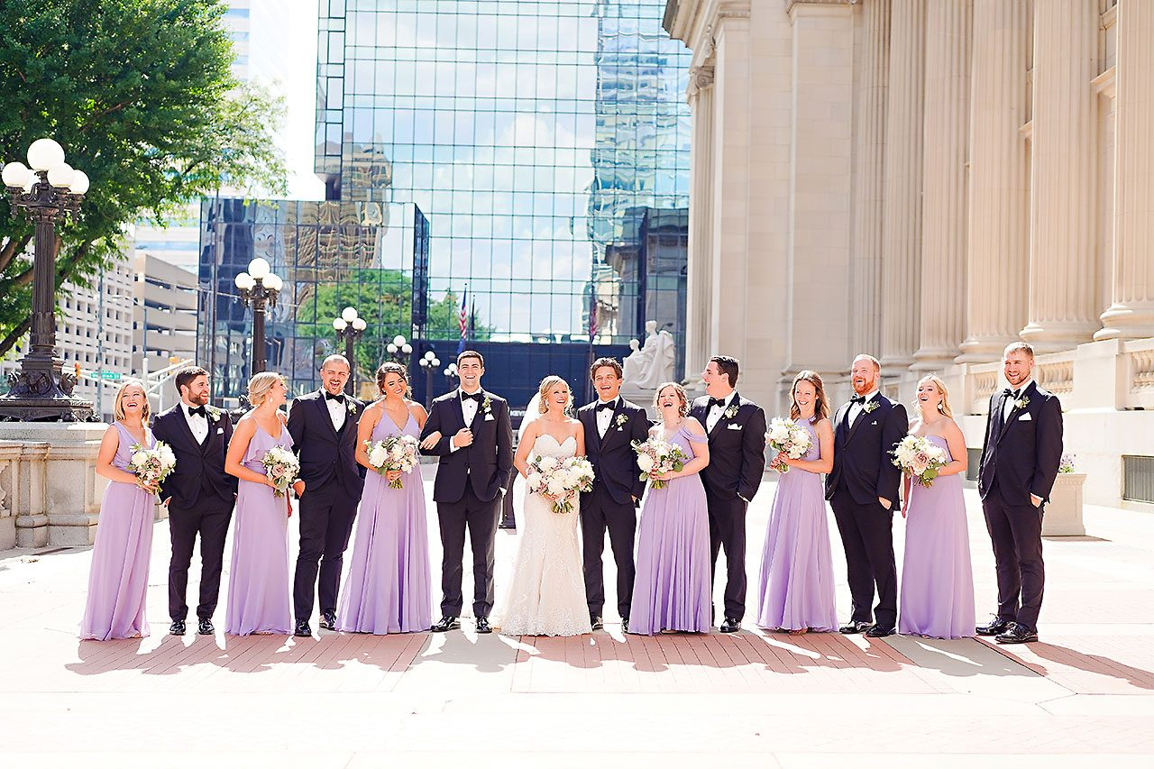 Laura Brandon Sacred Heart Conrad Indianapolis Wedding 172