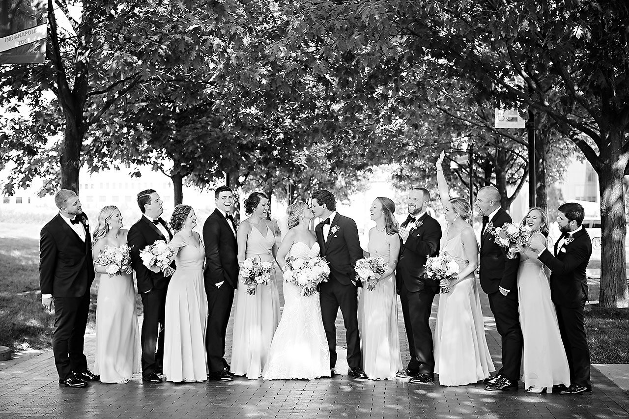 Laura Brandon Sacred Heart Conrad Indianapolis Wedding 207