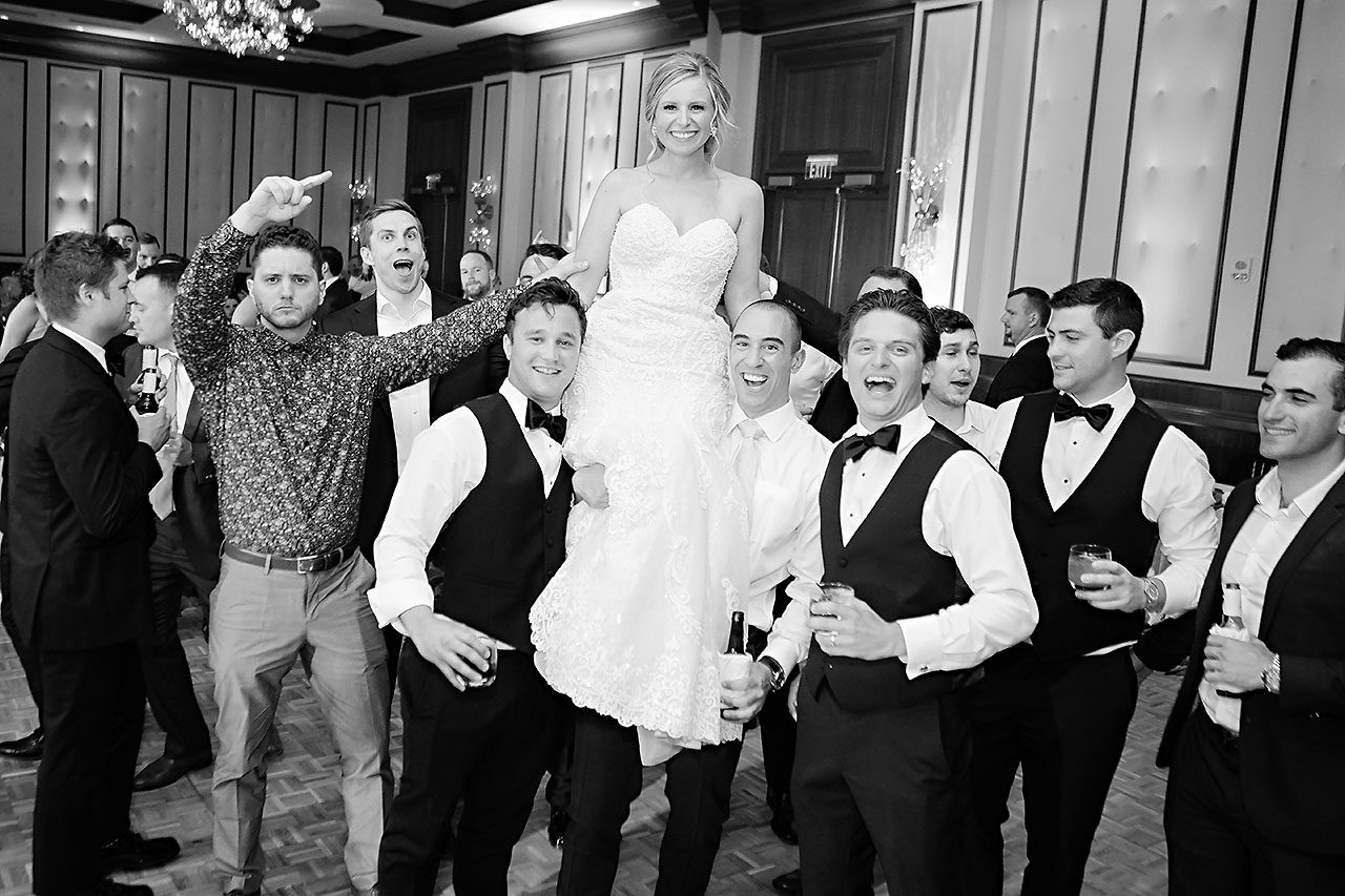Laura Brandon Sacred Heart Conrad Indianapolis Wedding 316