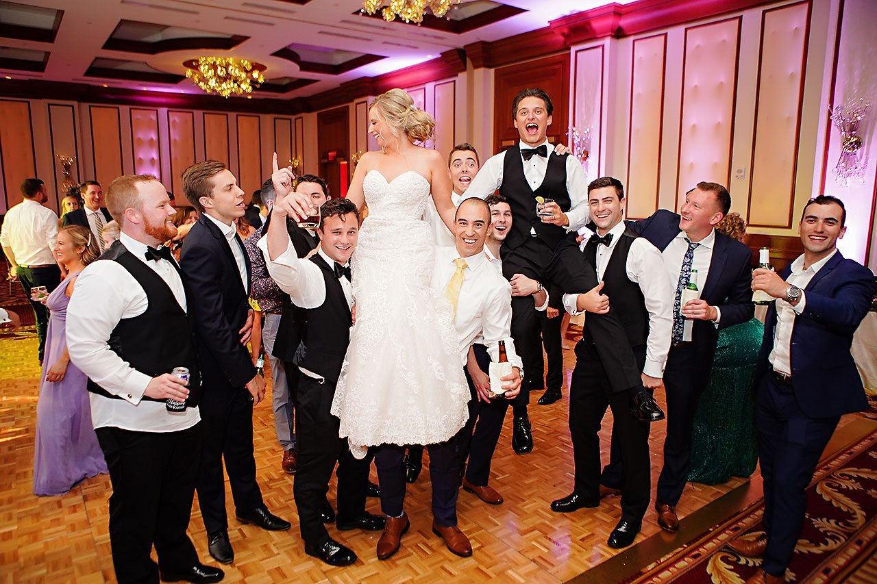 Laura Brandon Sacred Heart Conrad Indianapolis Wedding 317