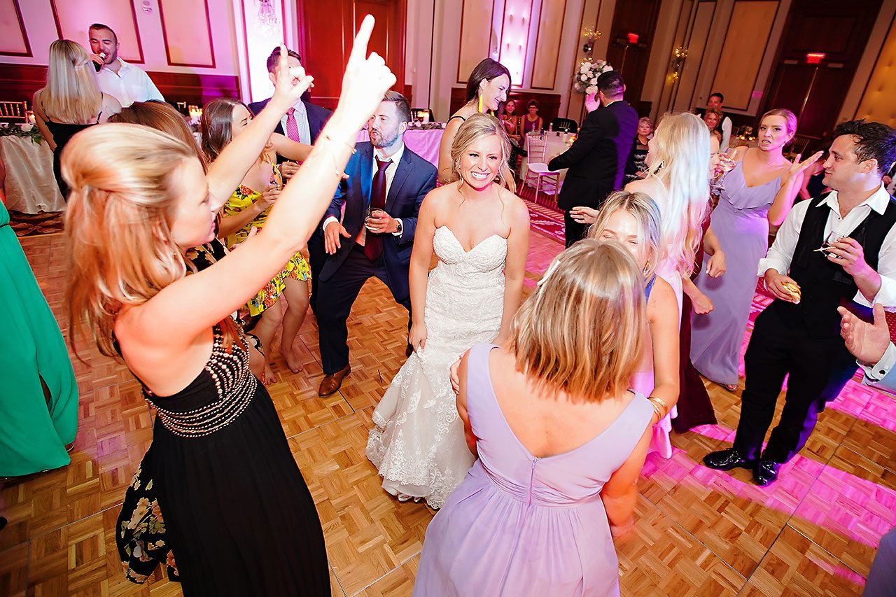 Laura Brandon Sacred Heart Conrad Indianapolis Wedding 325