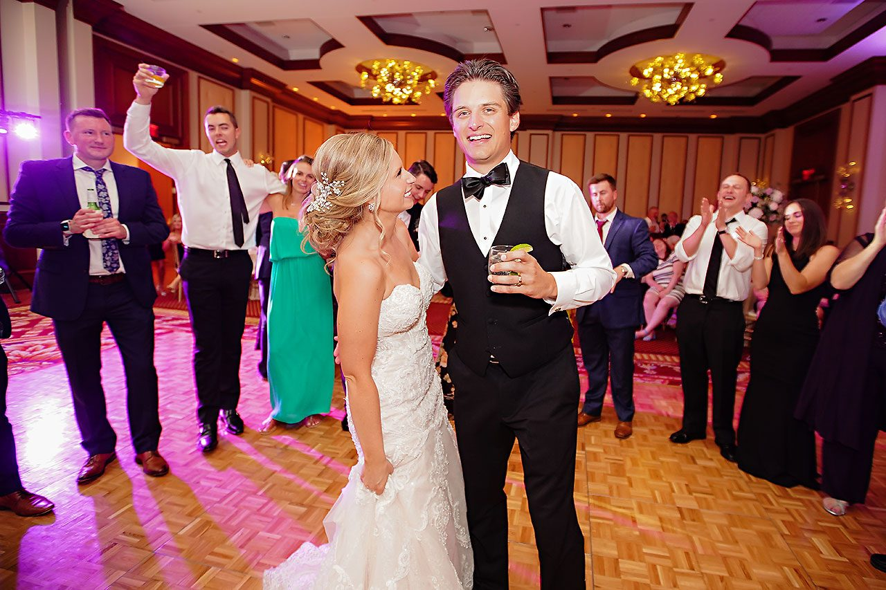 Laura Brandon Sacred Heart Conrad Indianapolis Wedding 332