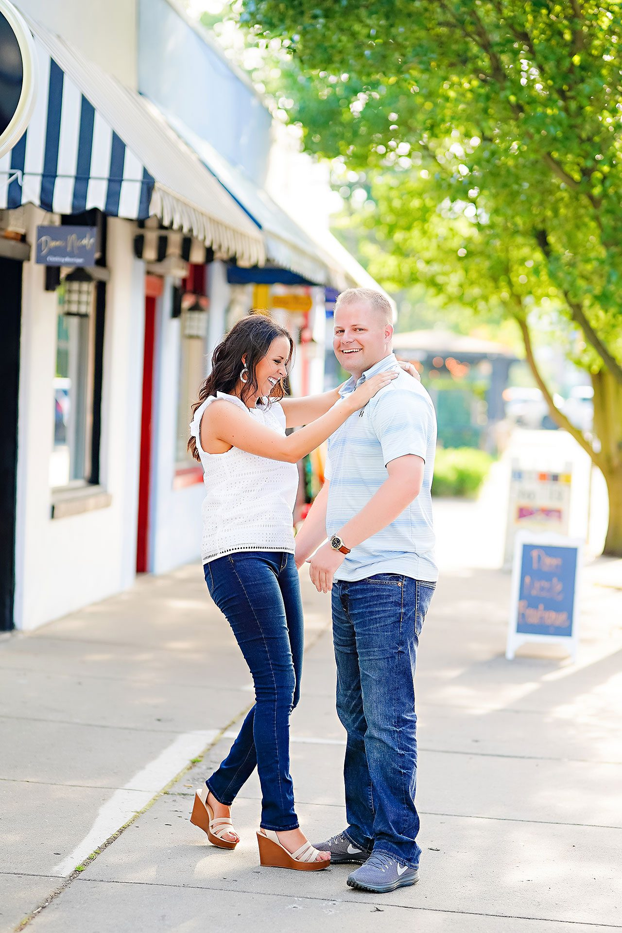 Michelle Casey Newfields Broad Ripple Indianapolis Engagement 047