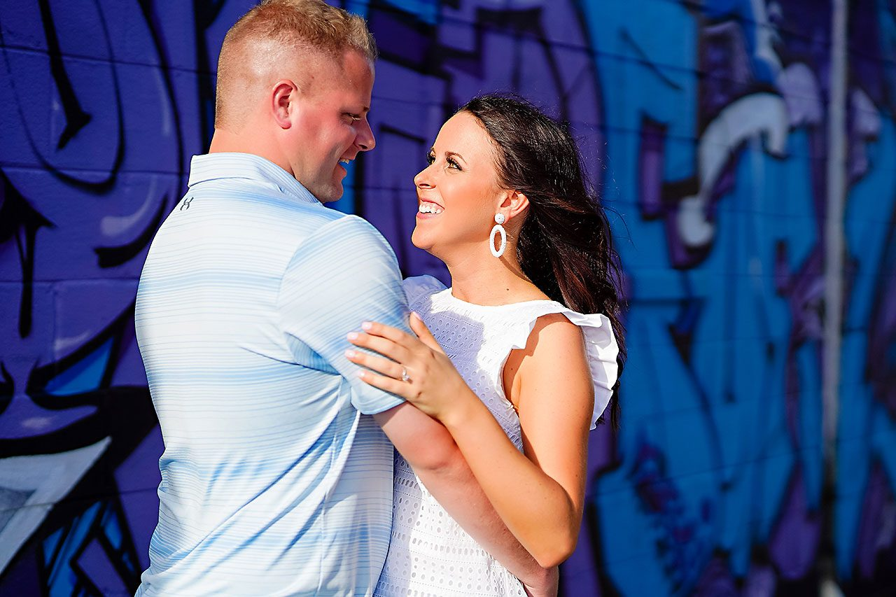 Michelle Casey Newfields Broad Ripple Indianapolis Engagement