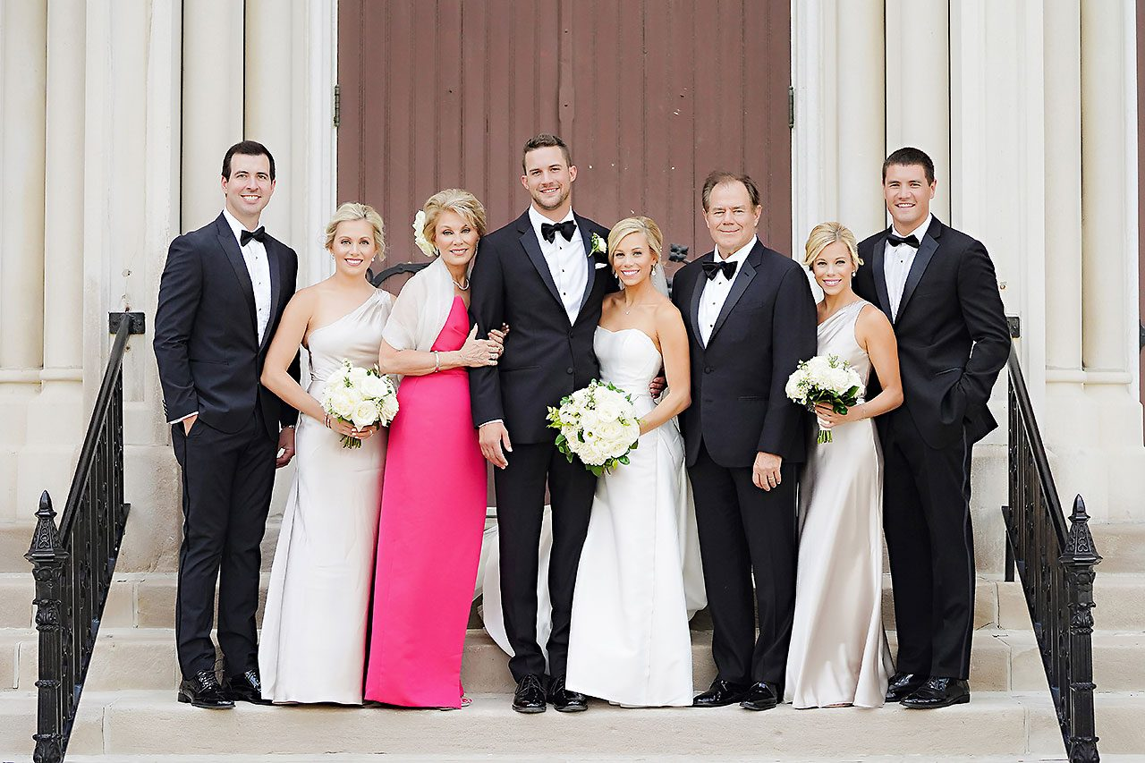 Jennie Mark Indiana Roof Ballroom Wedding 098