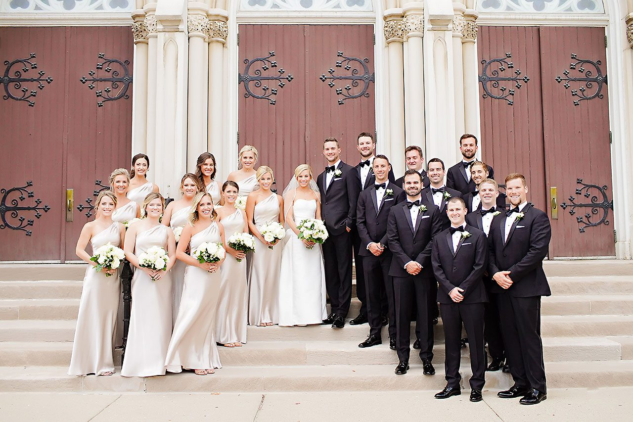 Jennie Mark Indiana Roof Ballroom Wedding 101