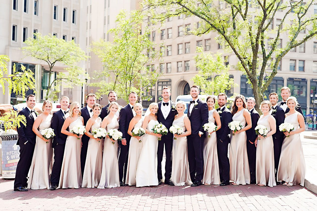 Jennie Mark Indiana Roof Ballroom Wedding 114