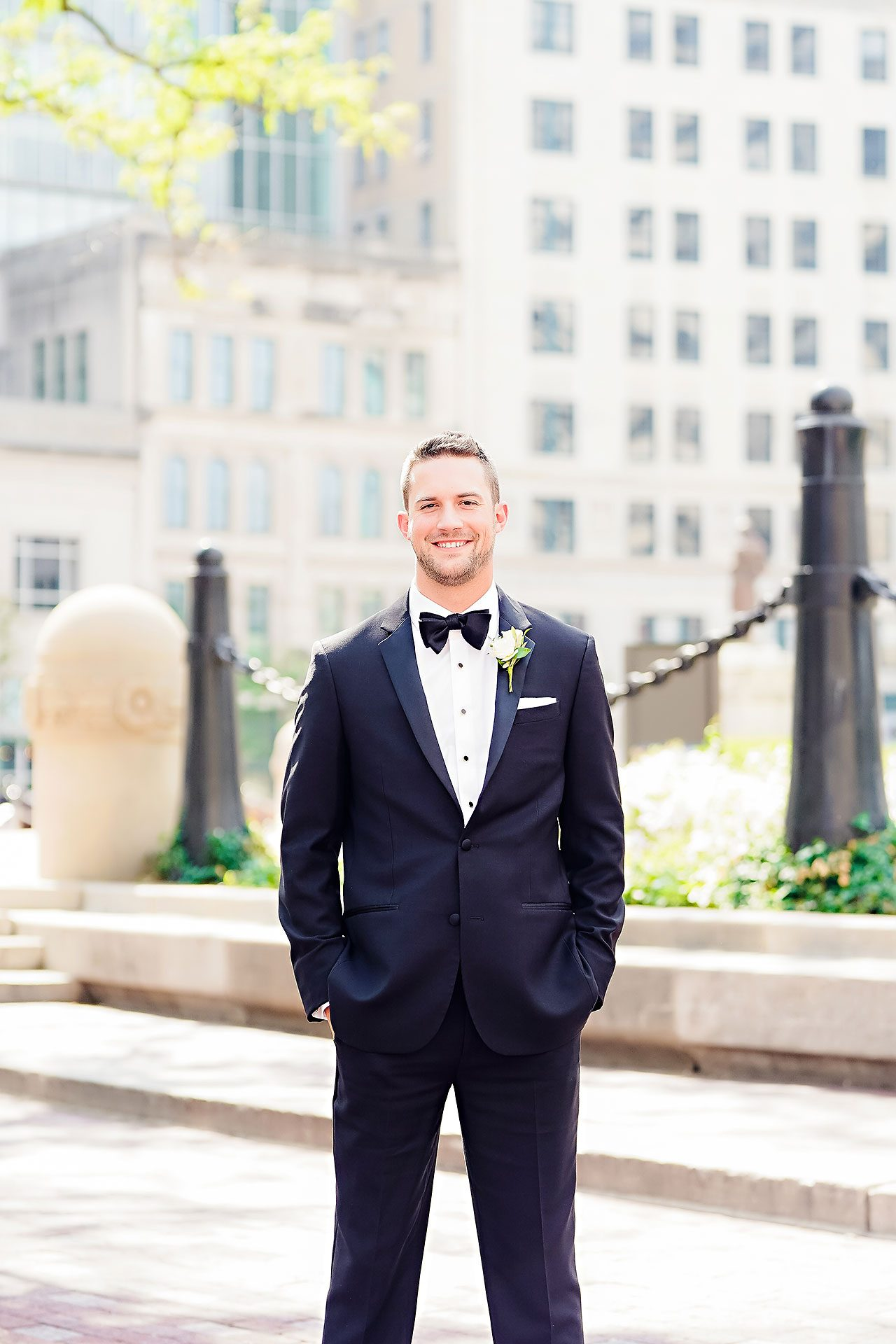 Jennie Mark Indiana Roof Ballroom Wedding 125
