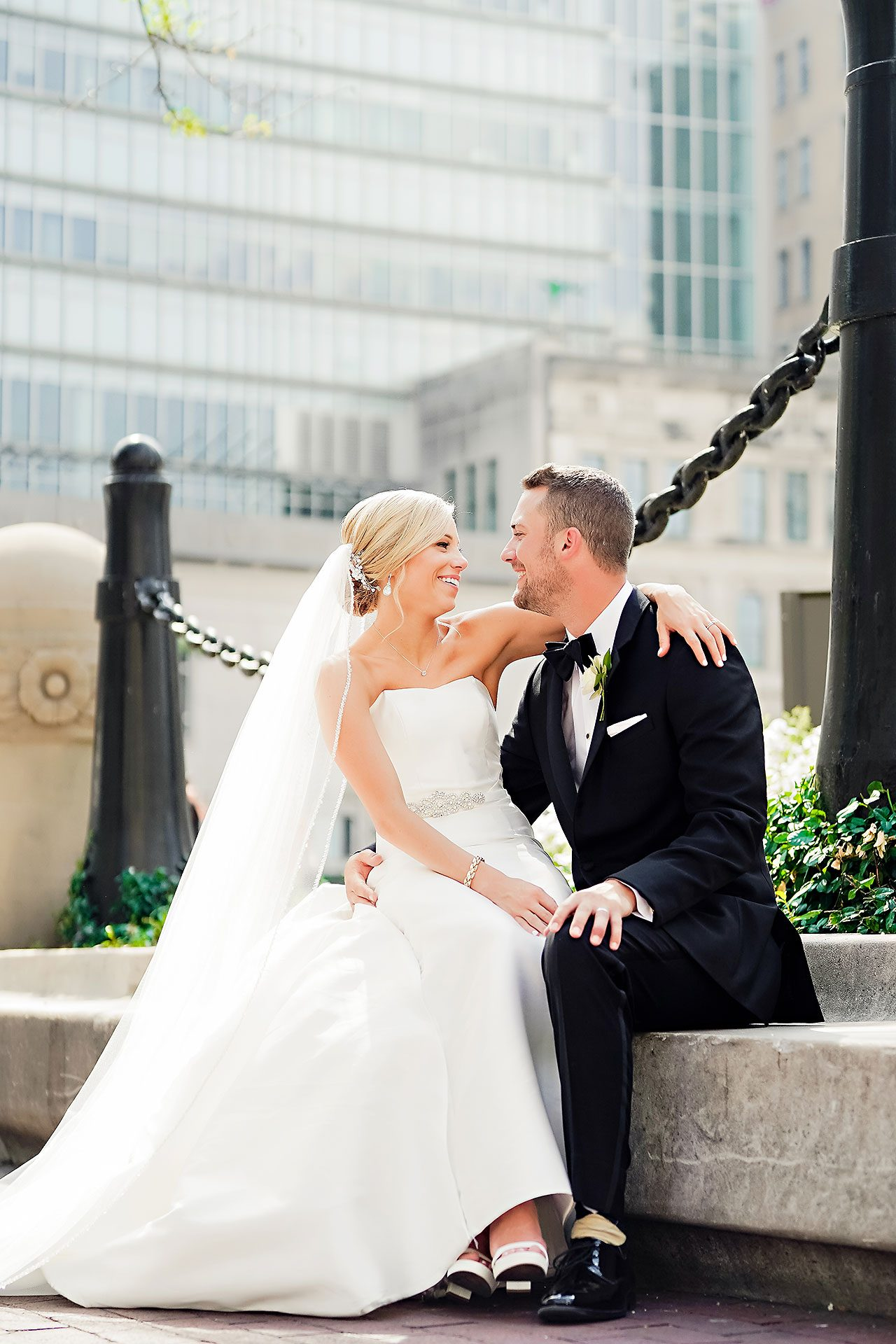 Jennie Mark Indiana Roof Ballroom Wedding 165