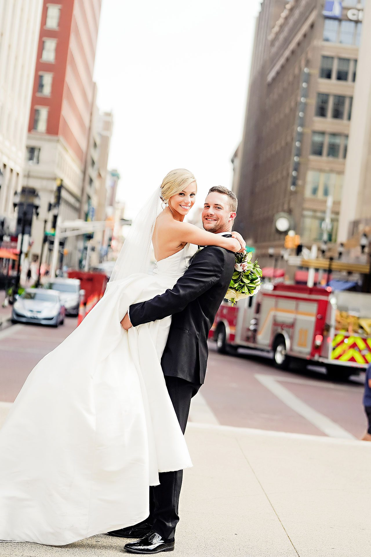 Jennie Mark Indiana Roof Ballroom Wedding 175