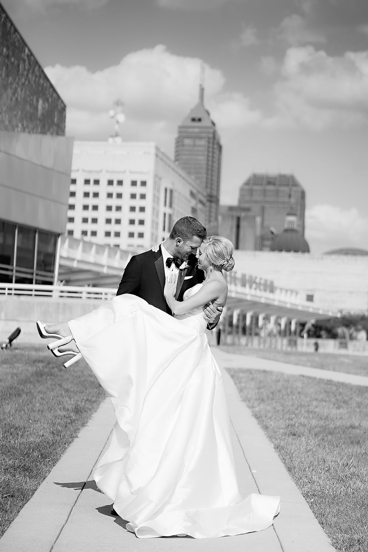 Jennie Mark Indiana Roof Ballroom Wedding 182