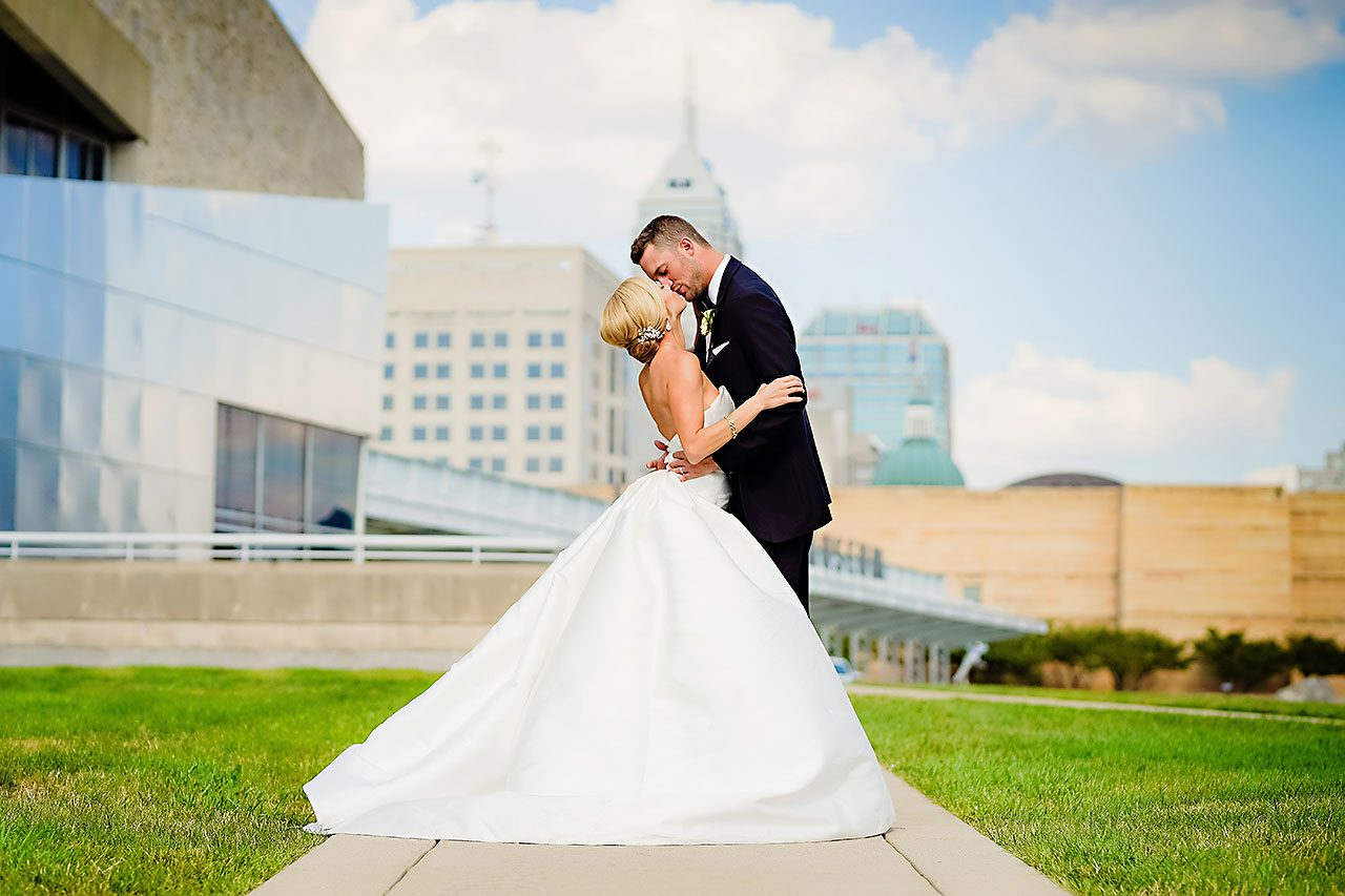 Jennie Mark Indiana Roof Ballroom Wedding 189